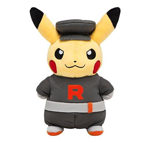 Pokemon Center Original Plush Doll Stuffed Toy Cosplay Pikachu Team Rocket ver Center]()