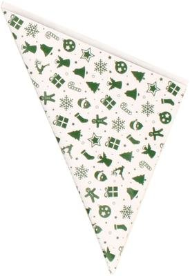 100 Papiertüten Spitztüten weiß 19 cm Dreieckstüten Adventskalender Bonbontüten