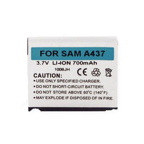 A437 Phone (Samsung SGH-A437 Cell Phone Battery (Li-Ion 3.7V 700mAh) Rechargable Battery - Replacement For Samsung SA-SGH-A437 Cellphone Battery)