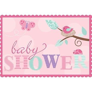 Amazon tweet baby girl invitations w envelopes 8ct baby tweet baby girl invitations w envelopes 8ct filmwisefo