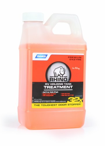 Camco 41514 RhinoFLEX Toilet Treatment - 64oz Bottle (64 Oz Septic Cleaner)