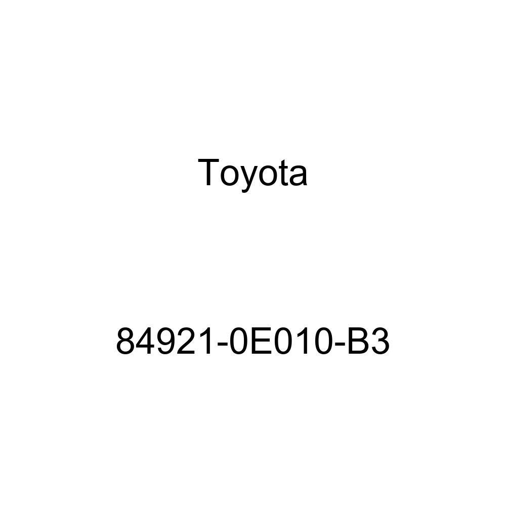 Toyota 84921-0E010-B3 Power Seat Switch Knob