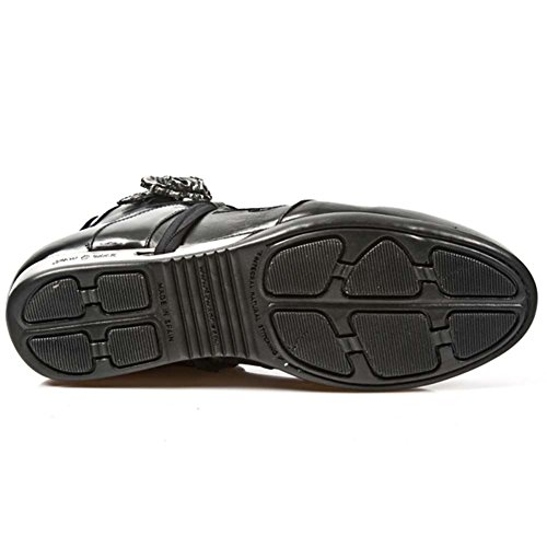 New Rock Hybrid Noir Chaussures M.HY004-S1