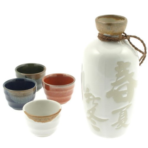 Kotobuki 120-932 Four Seasons Sake Set