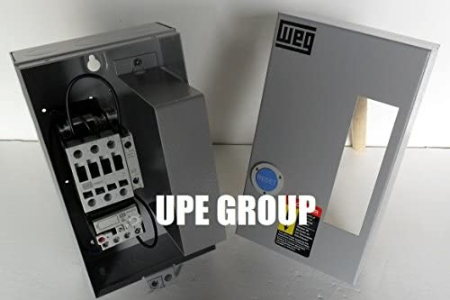 WEG 15HP 460VAC MAGNETIC STARTER FOR ELECTRIC MOTOR AIR COMRPESSOR 15 HP 3 PHASE 460V 25 AMP