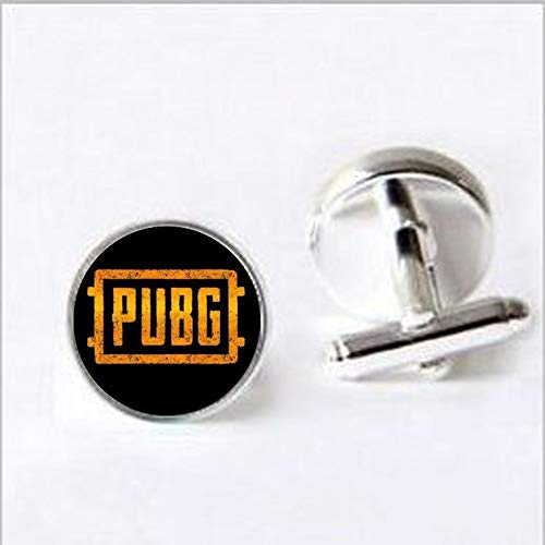 2018 new PUBG Jedi Survival Escape Time Necklace Eat Chicken Game Wholesale 640x640 new Game Hot Jewelry attached to a metal Cufflinks