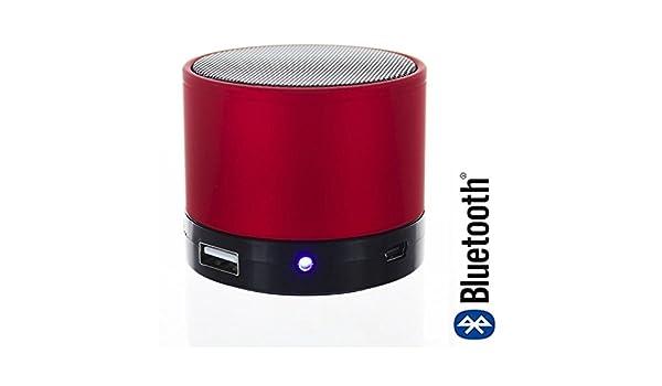 Mini altavoz con Bluetooth para Carrefour Smart 5, color azul: Amazon.es: Electrónica