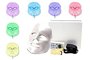 Rapunzel LED Photon Therapy Mask. 7 Color Light Mask For Photonic Light Therapy. Get A Rested and Younger Looking Face Today! and