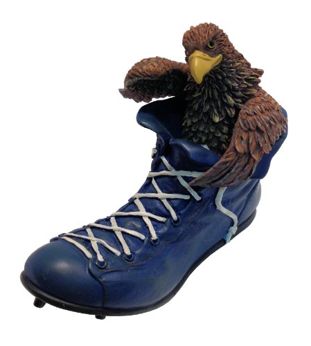 Georgia Southern University NCAA Eagle Mascot GUS in Football Cleats Collectible Figurine