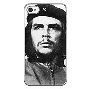 Che Guevera iPhone 4s Tranparent Edge Case - Heroes