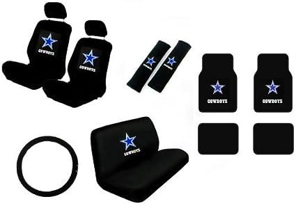 15 Piece NFL Auto Interior Gift Set   Dallas Cowboys   A Set Of 2 Seat