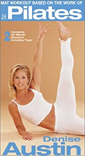 Denise Austin - Mat Workout Based on the Work of J.H. Pilates [VHS] (0784018235) | Amazon Products