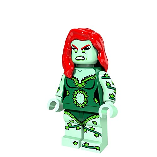GRA Toys Poison Ivy Minifigure Superhero Building Blocks Sets Models Bricks Mini Figures Kid - Ivy English Brick