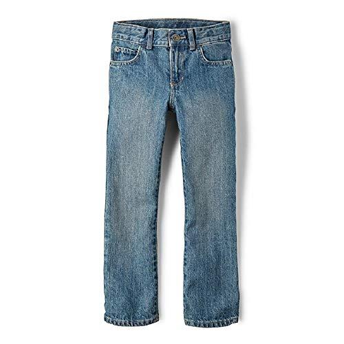 - The Children's Place Big Boys' Straight Leg Jeans, River,4