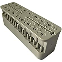 Autoclavable Endo Measuring Dental Block Ruler