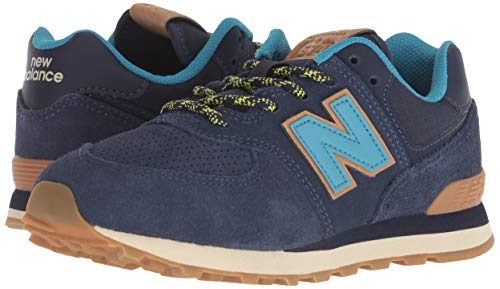 New Balance Boys' Iconic 574 Sneaker Pigment/Cadet 10 M US Toddler by New Balance (Image #5)