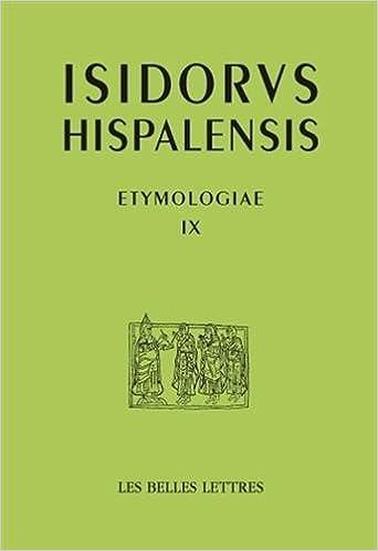 En ligne téléchargement gratuit Etymologies, livre IX. Les langues et les groupes sociaux epub, pdf