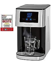 Profi Cook PC-HWS 1145 warmwaterdispenser, roestvrijstalen behuizing, warm water met een druk op de knop in ongeveer 3 seconden, led-display met sensor-touch-bediening, 2600 watt