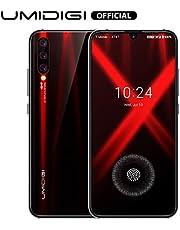 UMIDIGI X Smart Phone SIM Free 4G Smartphone 48MP AI Triple Camera 128GB Mobile Phone Unlocked with In-screen Fingerprint Scanner 6.35 Inch AMOLED Full Screen Android 9 Phone 4150mAh Battery
