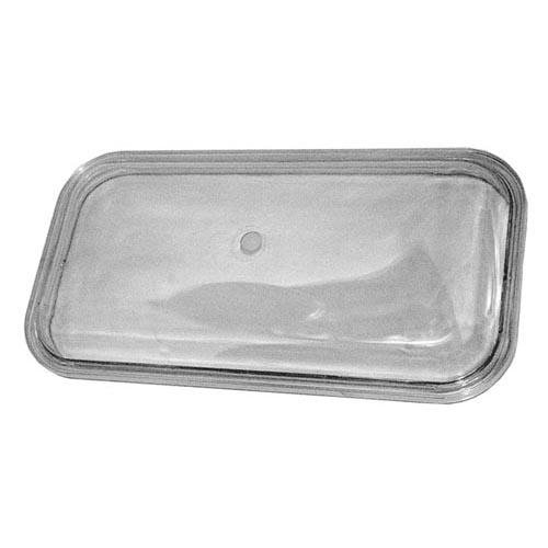 """Grindmaster GRINDMASTER 1116 Cover Single Wall For 14-3/8"""" X 7-1/8"""" Clear For Crathco/ 321349"""