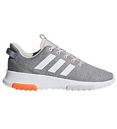 Price comparison product image adidas Big Kids' CF Racer TR K Sneaker,chalk Pearl/White/Hi-Res Orange,5 M US Big Kid