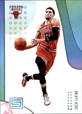 e82cb519b 2018-19 Panini Status  26 Zach LaVine Chicago Bulls NBA Basketball Trading  Card