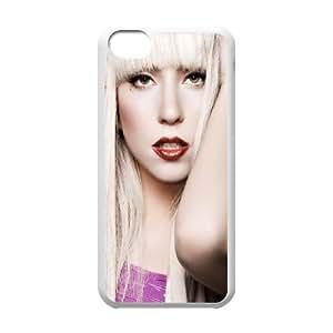 iPhone 5c Cell Phone Case White Lady Gaga P8G5GH