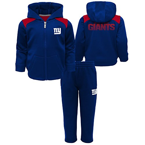 Outerstuff NFL New York Giants Infant Play Action Performance Fleece Set, Dark Royal, 12 Months ()