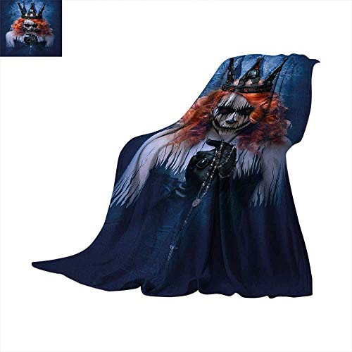 Anhuthree Queen Digital Printing Blanket Queen of Death