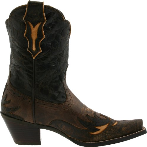 Cowboy Delle Occidentale Floreale Stivale Da Dalia Cioccolato Marrone Donne Ariat Sciocco qxw6Ft4I