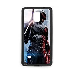 Robo Cop Samsung Galaxy Note 4 Black Cell Phone Case GSZWLW2614 Clear Phone Cases
