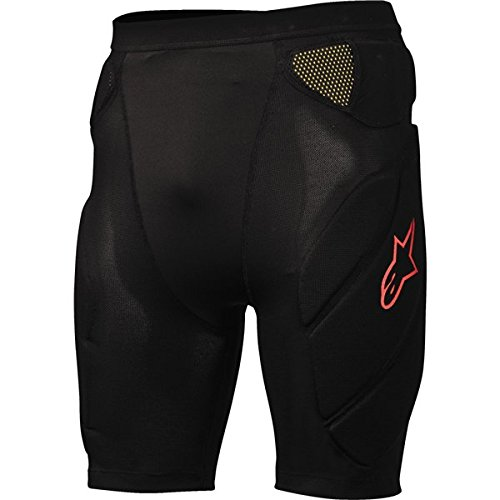 Alpinestars Comp Pro Shorts, X-Large, Black/Red