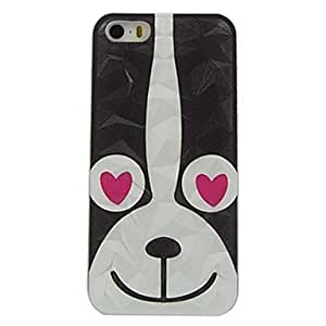 DUR Cartoon Dog Design Pattern Hard Case for iPhone 5/5S