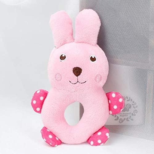 ホリデーギフト おもちゃの犬、犬のための人気の面白いウールのきしむおもちゃ、屋内および屋外用の耐久性のある犬のおもちゃ 減圧の喜び (Color : RABBIT, Size : One Size)