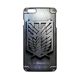 Fortune Attack on Titan 3D Phone Case for iPhone 6 plus