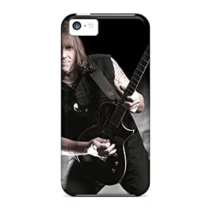 Bumper Hard Cell-phone Case For Iphone 5c With Custom Nice Manowar Band Image JonBradica