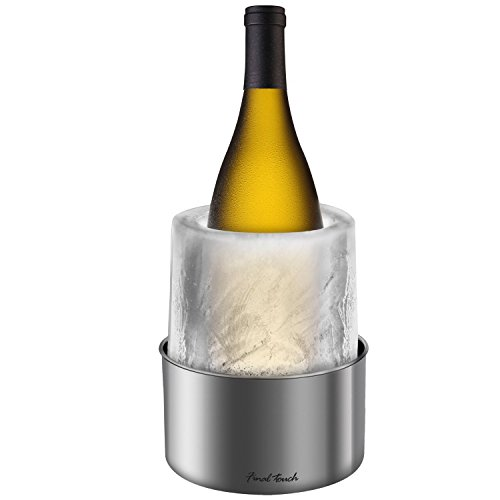 Final-Touch-Ice-Bottle-Chiller-Stainless-Steel