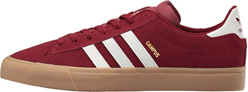 buy online bcc67 1f4f8 Adidas Campus Vulc 2.0 ADV (Collegiate Burgundy White Gum 4) Men s Skate  Shoes-10.5 - Buy Online in Oman.   Shoes Products in Oman - See Prices, ...