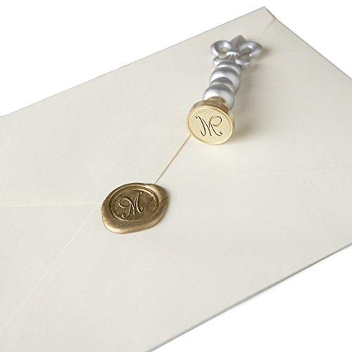 Elegant Monogram - Monogram Wax Stamper - M