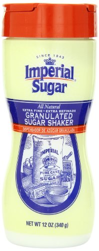 Imperial Granulated Sugar Shaker, 12-Ounce (Pack of -