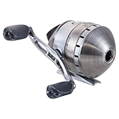 Zibo 33 Platinum Spin cast Reel Features: - 5-bearing drive (4 + clutch)- Continuous Anti-Reverse clutch- Brass pinion gear- All-metal body- High-speed gear ratio- Dual ceramic pickup pins- Metal handle with soft-touch knobs- Brushed stainles...