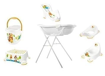 disney winnie the pooh set di accessori da bagno per neonati vasca per il