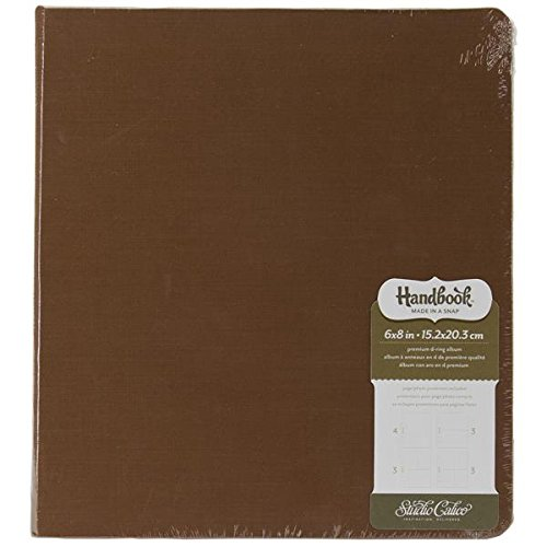 Studio Calico Handbooks Album, 8.75 by 9.75-Inch, Brown by Studio Calico