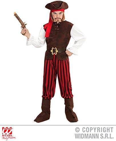 Partypackage Disfraz de Pirata del Caribe para niños de 8 a 10 ...