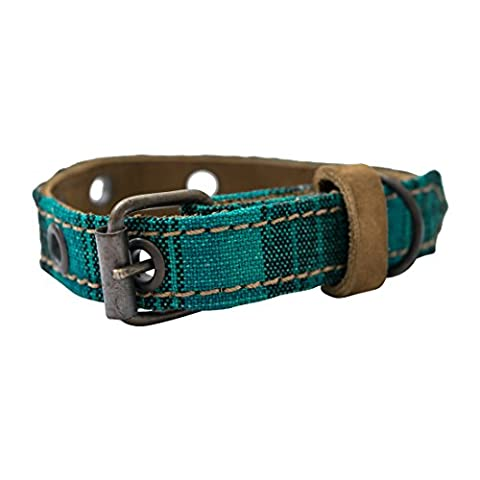 Mayan Pet Collar For Cats & Small Dogs (8.25 - 12.25 Inches) Handmade by Hide & Drink :: Tropical - Lighted Cat Collars