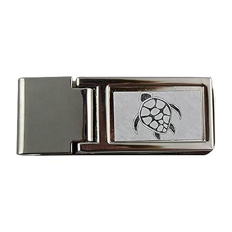 Metal money clip with turtle - Money Turtle