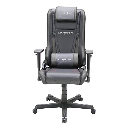 DX Racer Elite Series DOH/EA01/N Newedge Edition Racing Bucket Seat Office Chair Gaming Chair Ergonomic Computer Chair eSports Chair Executive Chair Furniture Rocker With Pillows (Black)