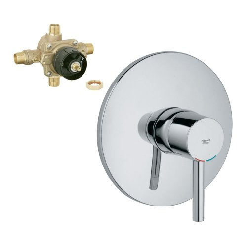 Grohe K19347-35015R-000 Essence Tub and Shower Valve Kit, Chrome