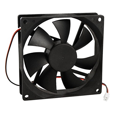 90mm x 25mm DC 12V 2 Terminals Cooling Fan for Computer CPU Case (Computer Pc Gino)