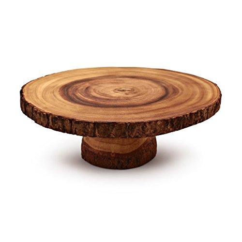 - Sur La Table Wood Slice Cake Stand AT.1529(L)